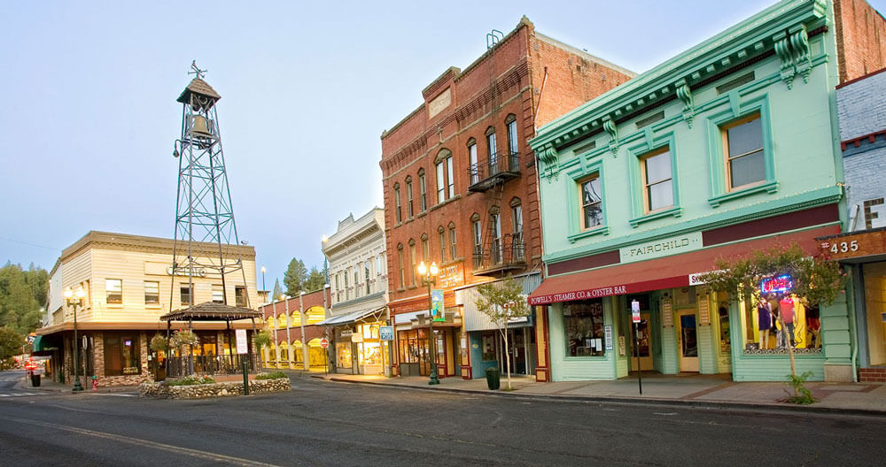 downtown placerville main street