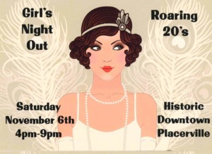 2021 Placerville Girls Night Out graphic