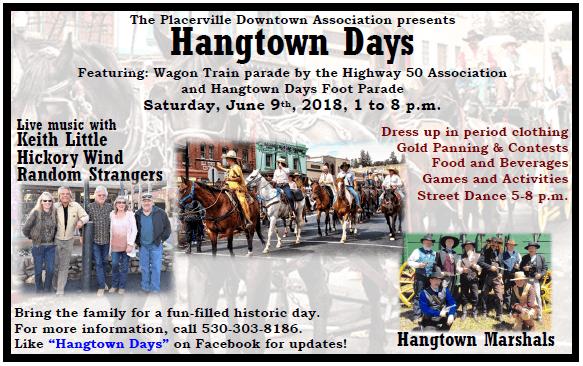 Hangtown Days 2018, Placerville, el Dorado County
