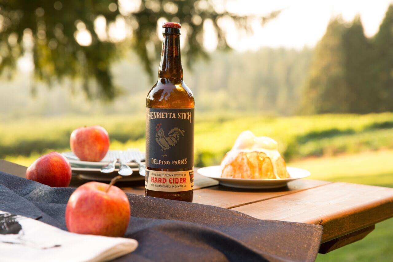 Delfino cider, Apple Hill™ El Dorado County